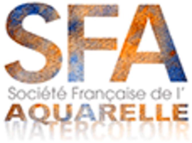 Sennelier, la acuarela exclusiva de la Sociedad Francesa de Acuarela logo-sfa-2019-site10
